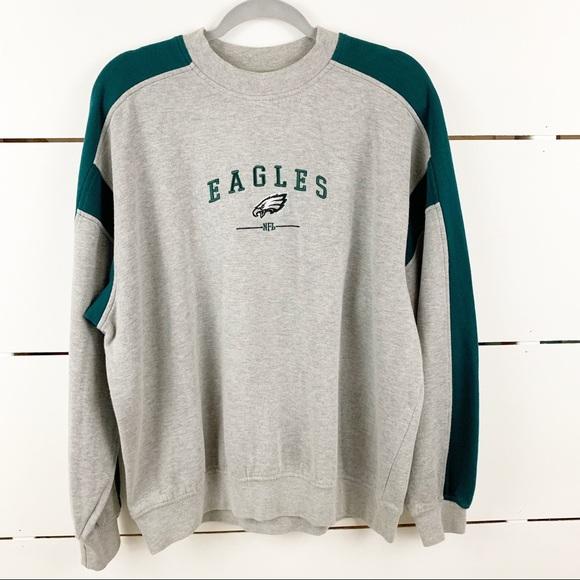 online retailer 77e2d 4ec73 VINTAGE NFL Philadelphia Eagles Crewneck Sweatshir